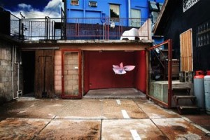 Playful Things, an installation by Trinidadian artist Marlon Darbeau at Alice Yard. Photo by Damian Libert, courtesy Alice Yard