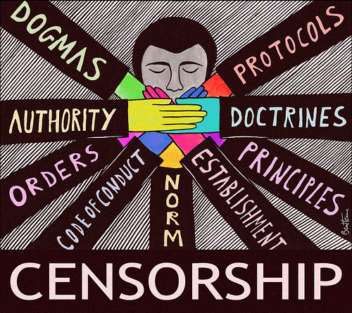 Extreme regulations lead to censorship. Image by Flickr user publik15 (CC BY 2.0).