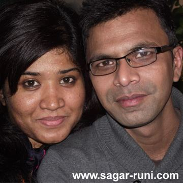 Sagar & Runi, the murdered couple