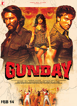 Poster of Gunday movie. Image courtesy Wikimedia