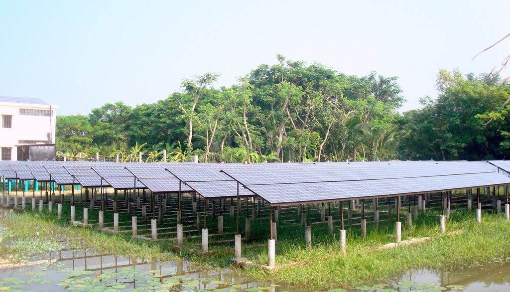 solar panel project at Sandwip, chittagong. Photo curtsey wikimedia.